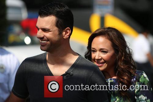 Leah Remini and Tony Dovolani 11