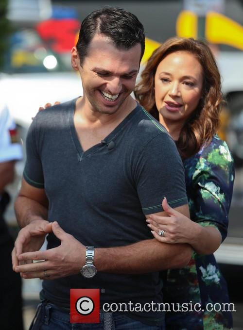 leah remini tony dovolani leah remini and her 3859810