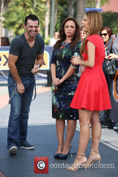 Leah Remini, Tony Dovolani and Maria Menounos 6