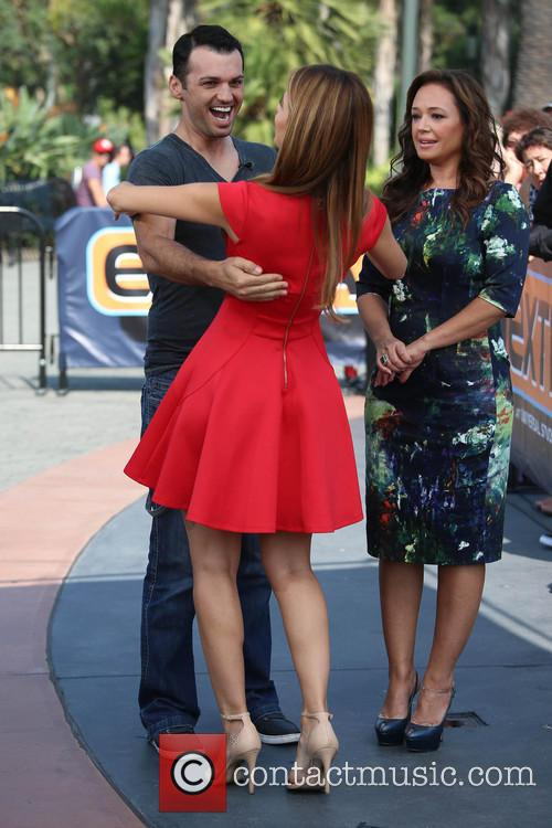 Leah Remini, Tony Dovolani and Maria Menounos 9