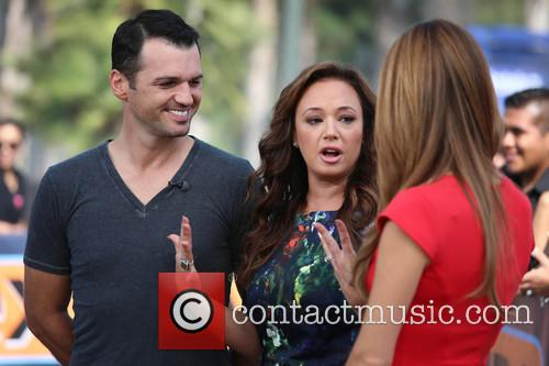 Leah Remini, Tony Dovolani and Maria Menounos 8