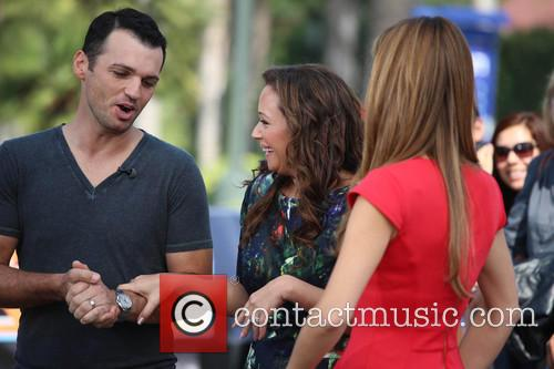 Leah Remini, Tony Dovolani and Maria Menounos 10