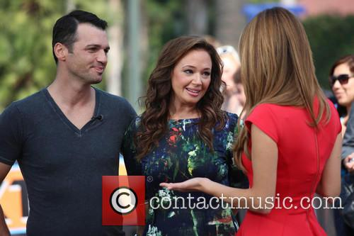 Leah Remini, Tony Dovolani and Maria Menounos 12
