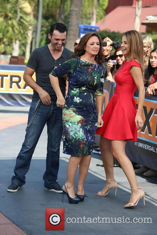 Leah Remini, Tony Dovolani and Maria Menounos 13