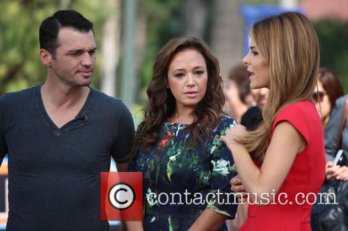 Leah Remini, Tony Dovolani and Maria Menounos 14