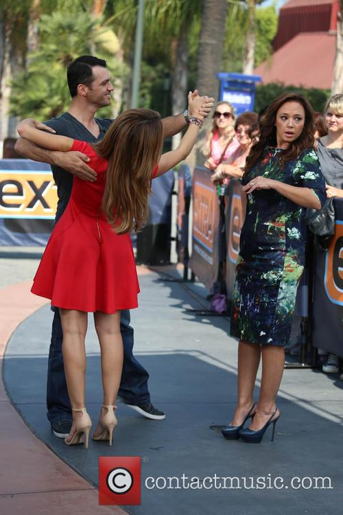 Leah Remini, Tony Dovolani and Maria Menounos 16