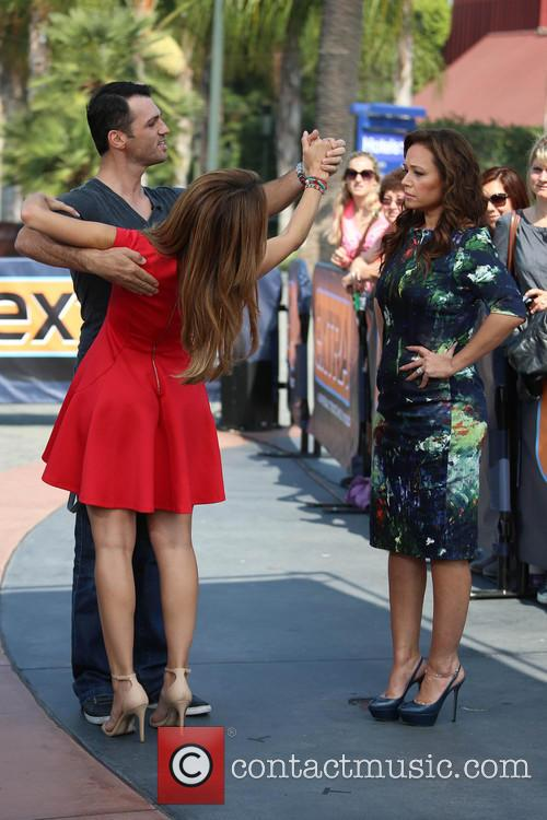 Leah Remini, Tony Dovolani and Maria Menounos 17