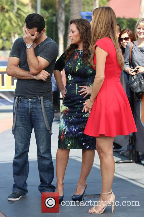 Leah Remini, Tony Dovolani and Maria Menounos 1