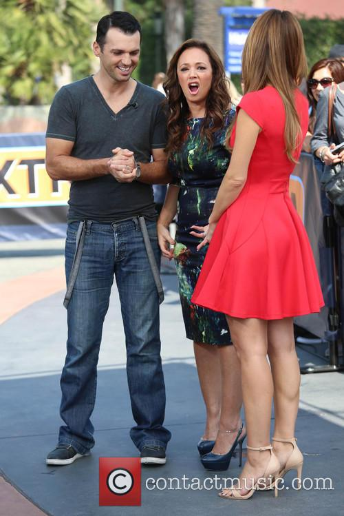 Leah Remini, Tony Dovolani and Maria Menounos 18