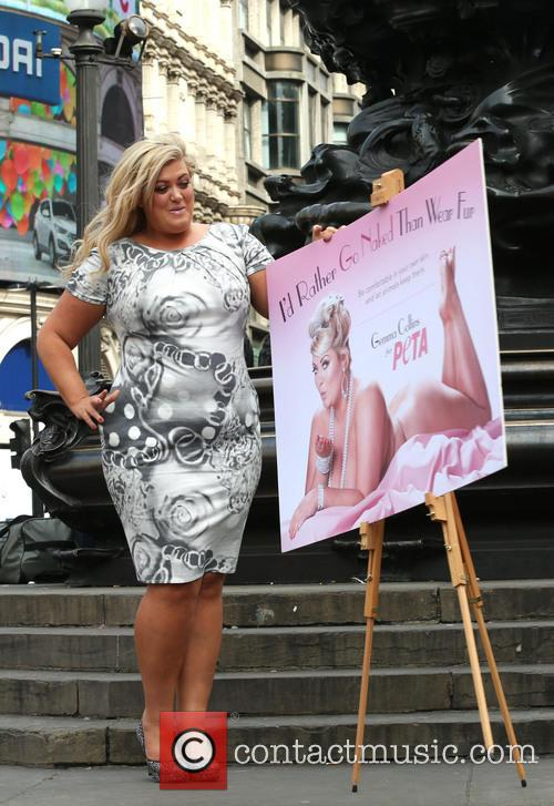 Gemma Collins, Piccadilly Circus