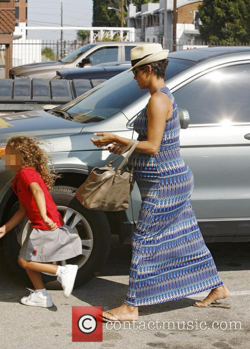 Halle Berry and Nahla Aubry 7