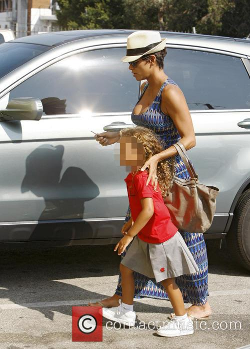 Halle Berry and Nahla Aubry 9