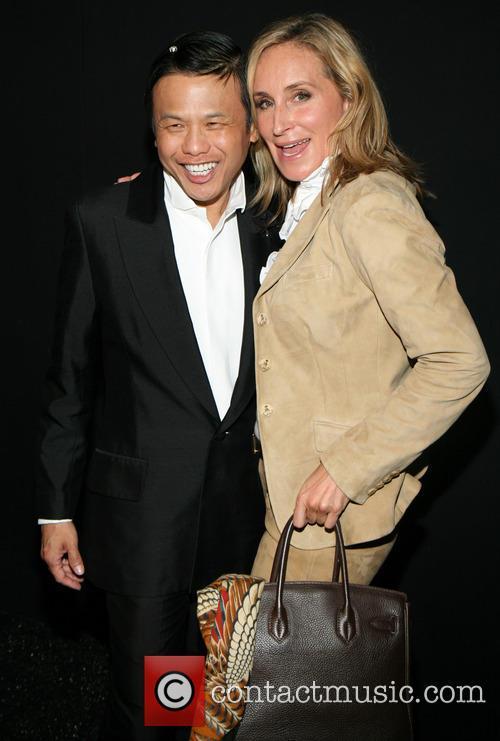 Zang Toi and Sonja Morgan 3