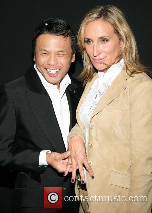 Zang Toi and Sonja Morgan 6