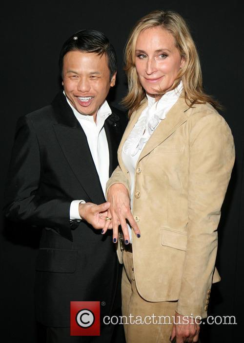 Zang Toi and Sonja Morgan 7