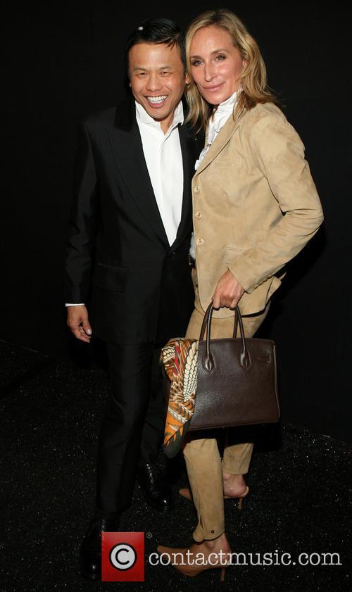 Zang Toi and Sonja Morgan 9