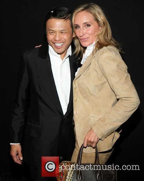 Zang Toi and Sonja Morgan 1