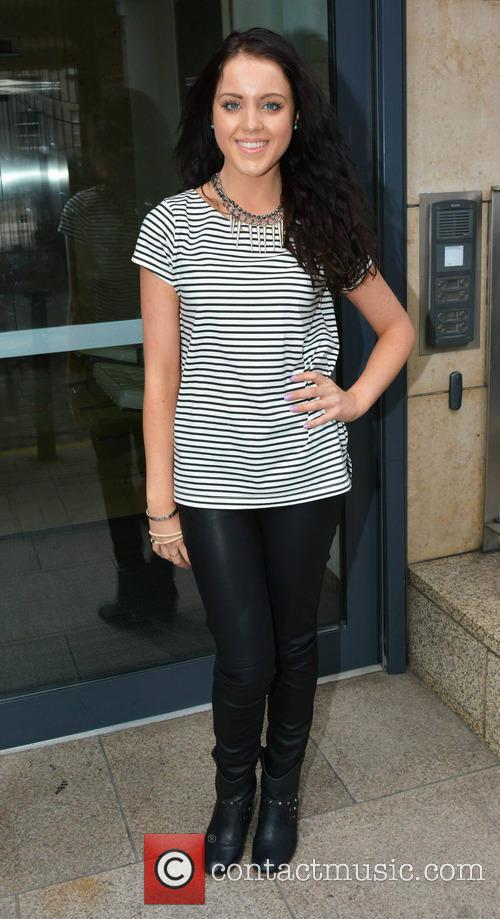 Melanie McCabe at Today FM studios