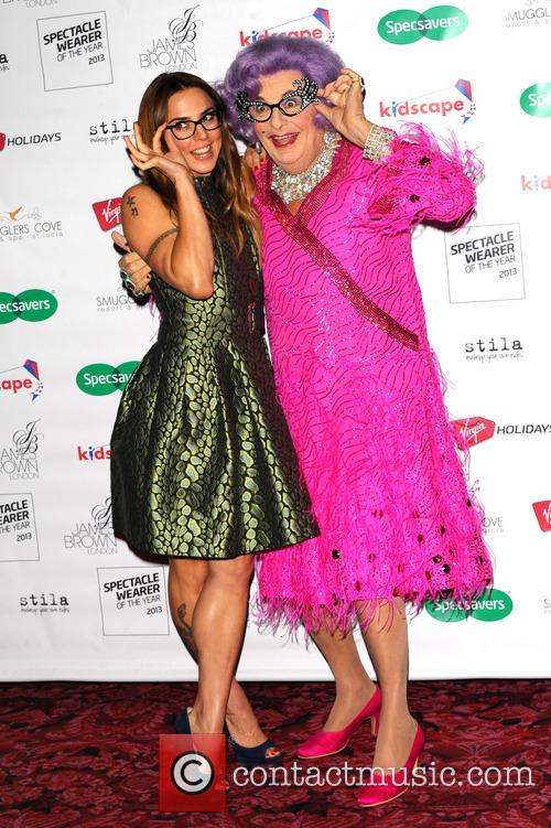 Melanie Chisholm, Mel C, Dame Edna Everage, Royal Opera House Covent Garden