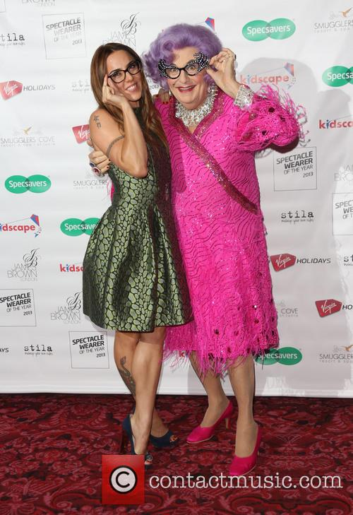 Melanie Chisholm, Dame Edna Everage and Mel C 7