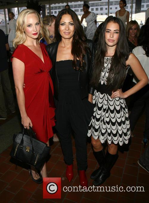 Candice Accola, Catherine Malandrino and Chloe Bridges 6