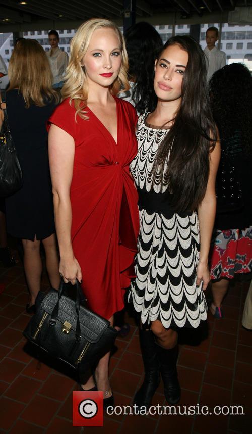 Candice Accola and Chloe Bridges 1