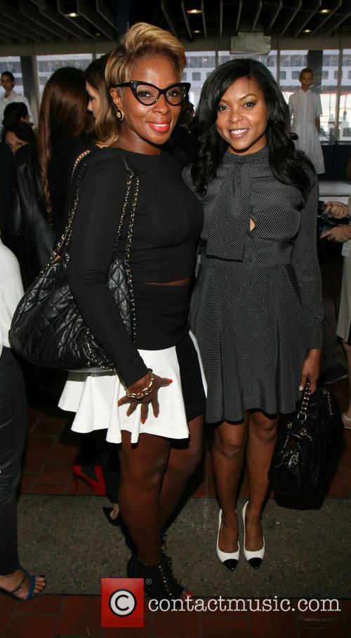 Mary J Blige and Taraji P. Henson 8
