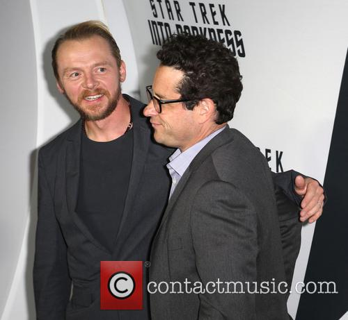Simon Pegg and J.j. Abrams 4