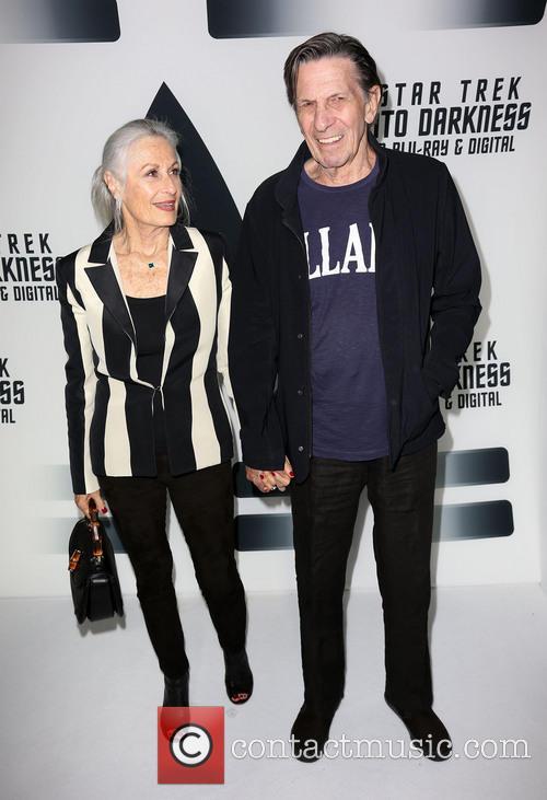 Susan Bay and Leonard Nimoy 2