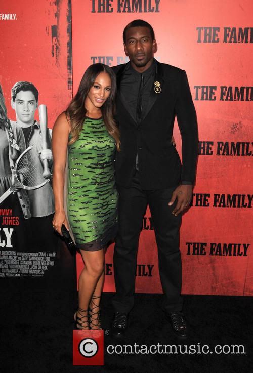 alexis welch amar'e stoudemire new york premiere of 3860553