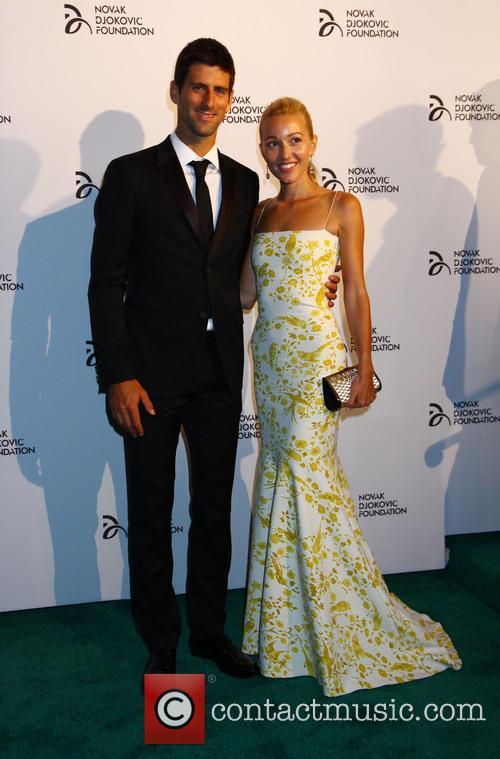 2013 Novak Djokovic Dinner