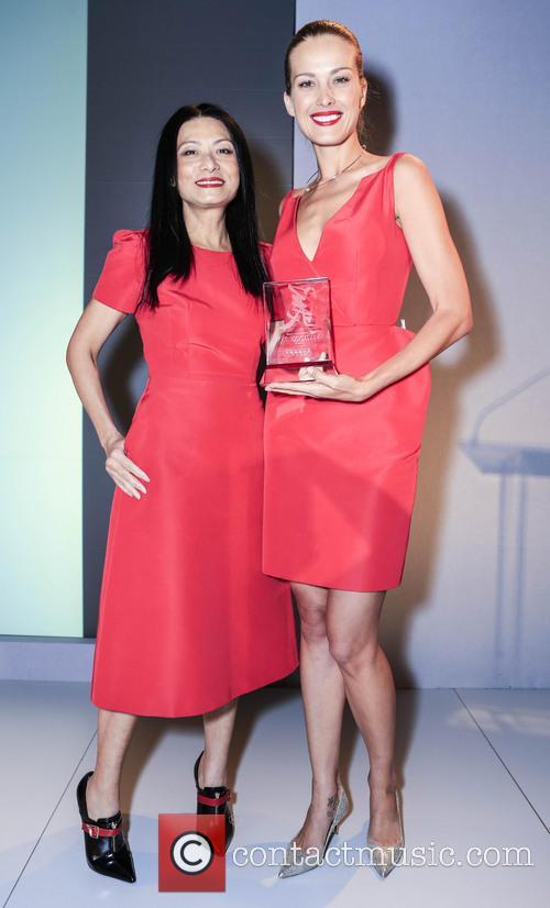 Vivienne Tam and Petra Nemcova 5