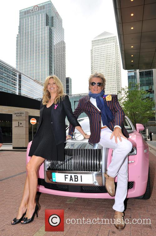 Rod Stewart and Penny Lancaster 5