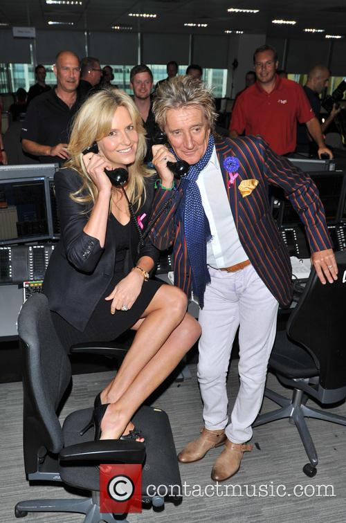Penny Lancaster and Rod Stewart 5