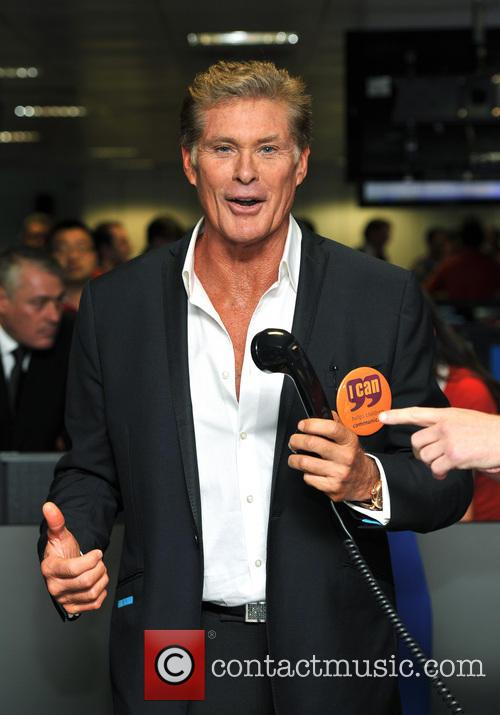 David Hasselhoff, BGC Global Annual Charity Day
