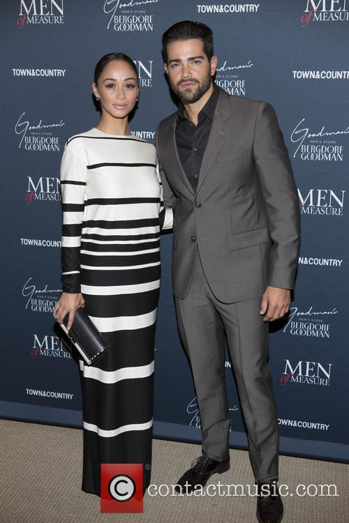 Cara Santana, Jesse Metcalf, Bergdorf Goodman Men NYC