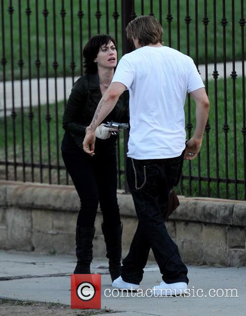 Charlie Hunnam and Maggie Siff 2