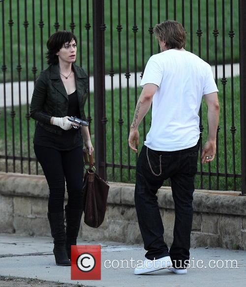 Charlie Hunnam and Maggie Siff 12