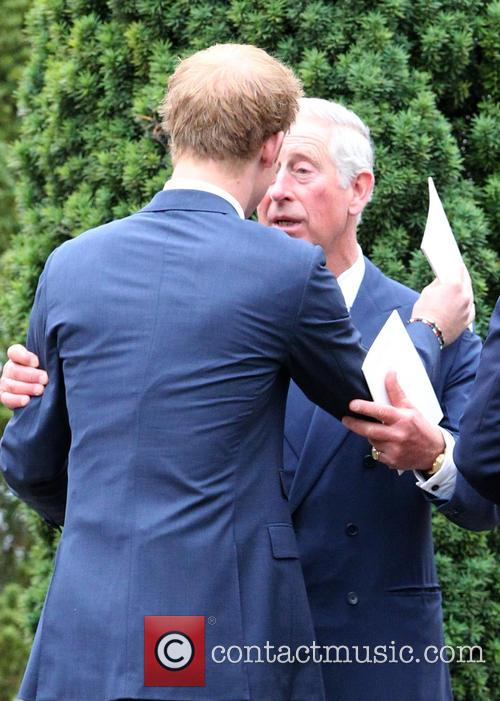 Prince Harry and Prince Charles 2