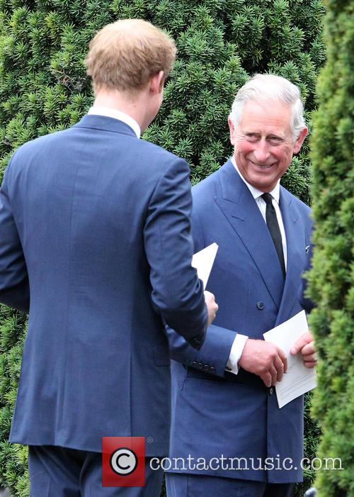 Prince Harry and Prince Charles 11