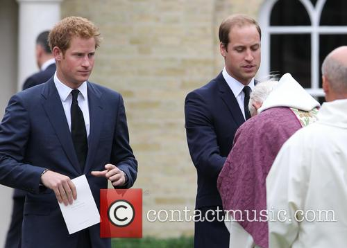 Prince Harry and Prince William 5