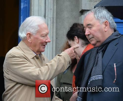 Gay Byrne and Harry Crosbie 1