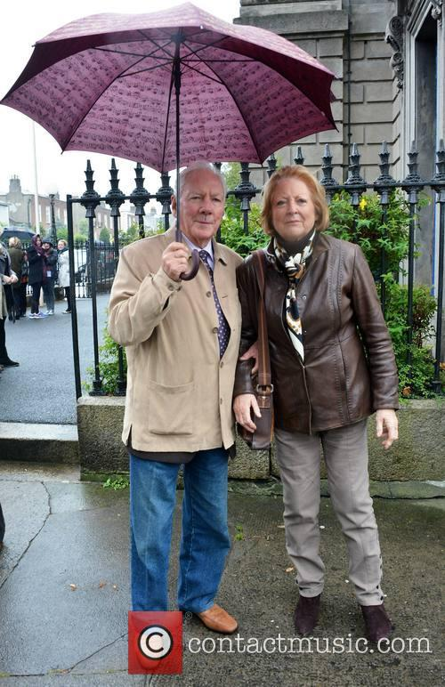 Gay Byrne and Kathleen Watkins 3