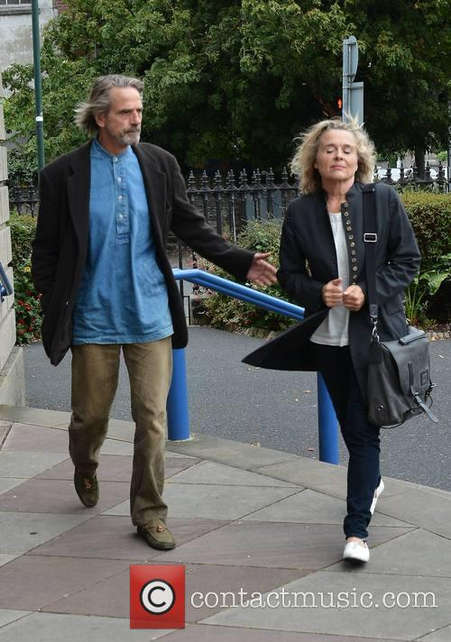Jeremy Irons and Sinead Cusack 1