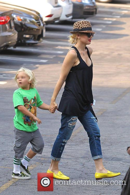 Gwen Stefani and Zuma Rossdale 1