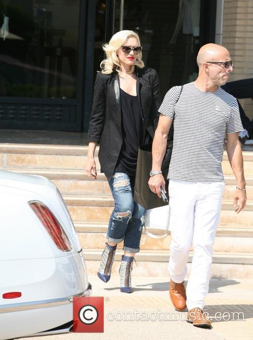 Gwen Stefani Leaving Barneys New York