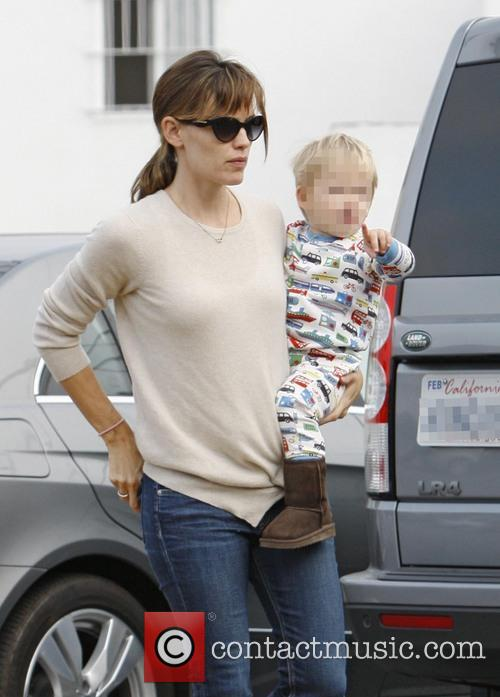 Jennifer Garner and Samuel Affleck 11
