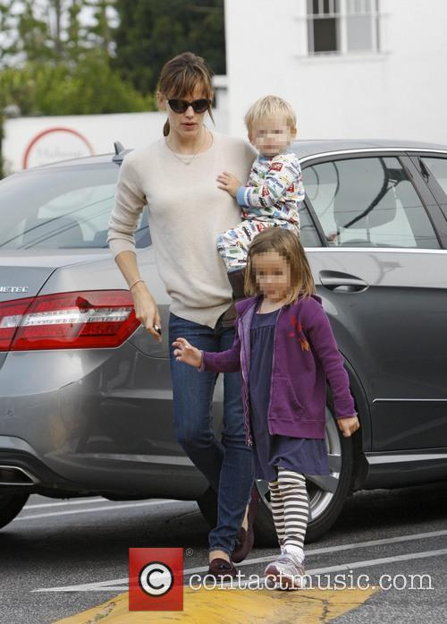 Jennifer Garner, Seraphina Affleck and Samuel Affleck 2