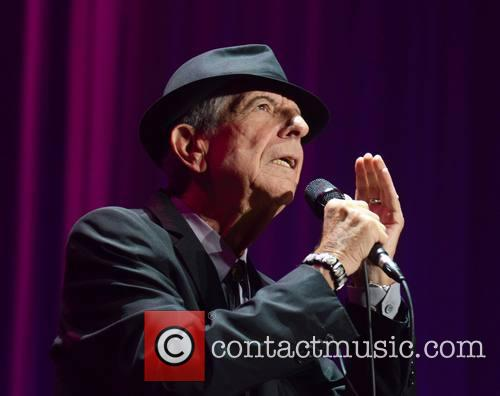 Leonard Cohen performs at The O2