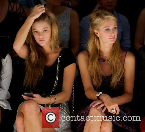 Nina Agdal and Paris Hilton 1